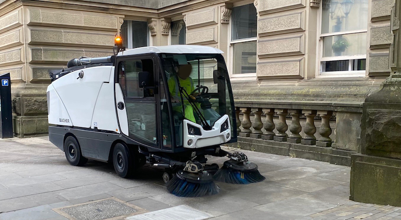 Dawsongroup secures largest Scottish sweeper contract