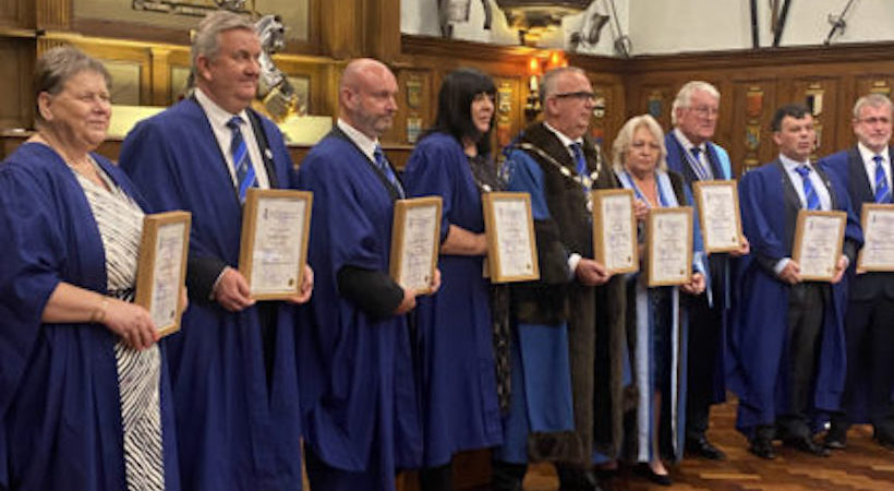 WCEC members are first group to be awarded Chartered Practitioner's status