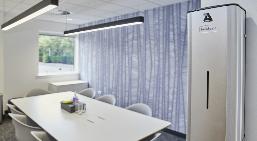 Office germs reduced by 78% in independent test