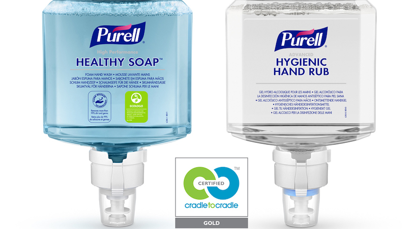 Purell products achieve 'Cradle to Cradle Certified' status