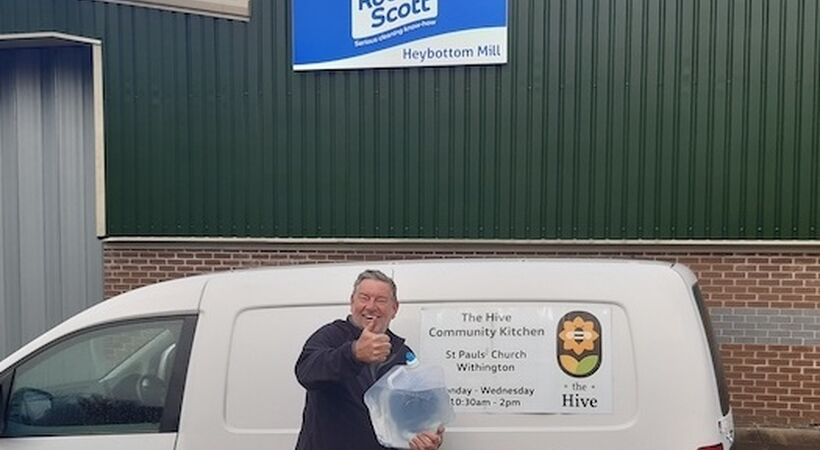 Robert Scott supports local charities with bio-cleaning solution