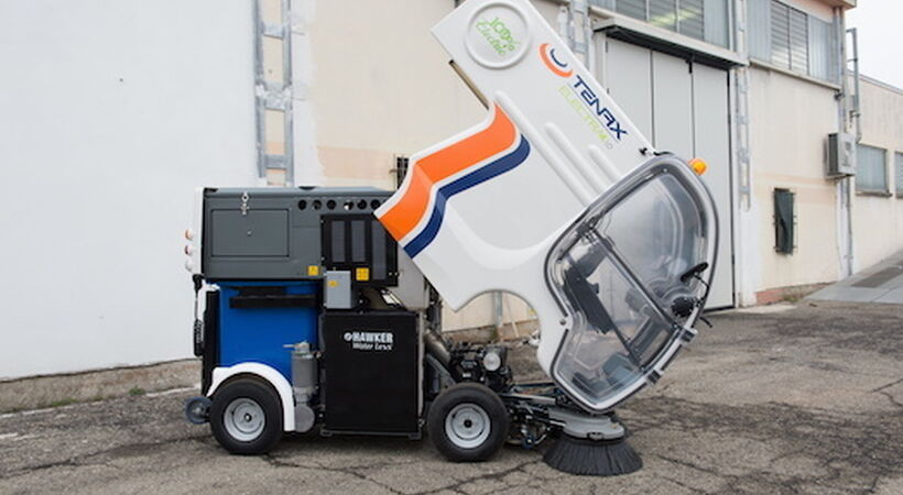 EnerSys battery powers pioneering street sweeper