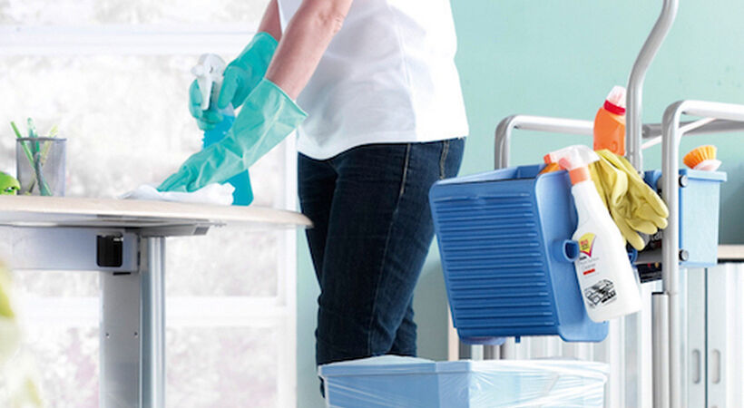 COVID-19 update: Cleaning staff must be considered as 'critical or key workers'
