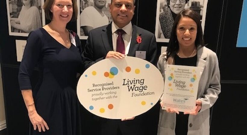Wates FM receives Living Wage Foundation accreditation