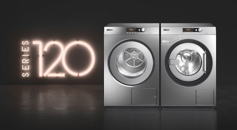 Energy efficient washing machines and dryers