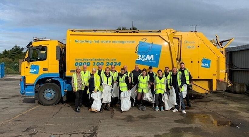 Bruntwood and B&M Waste relationship strengthens