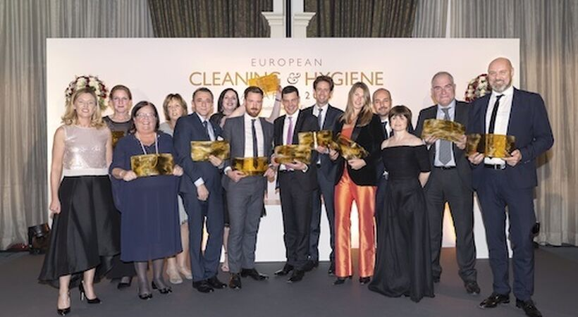 Finalists announced for European Cleaning and Hygiene Awards
