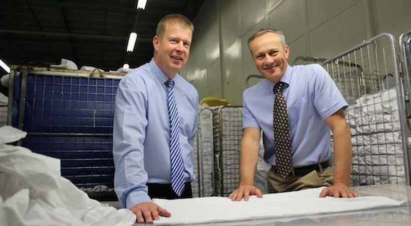 Linen stain removal operations expand with new business take-up