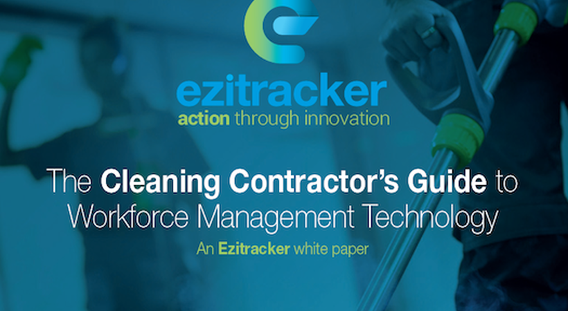 White paper: the 'Cleaning contractors guide to workforce management'