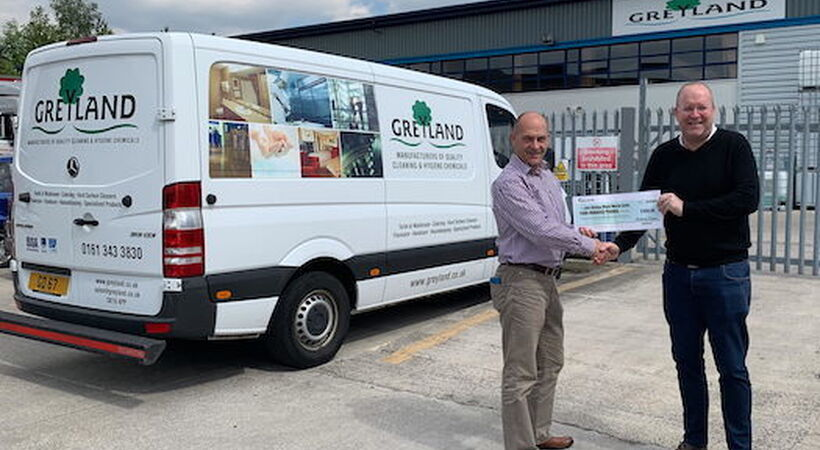 Greyland sponsors Nine Peaks Challenge in aid of charities
