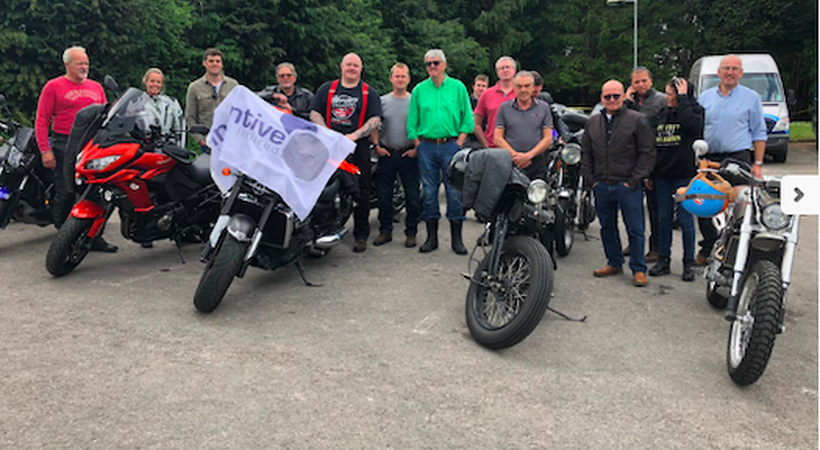 Riders get into gear for charity event