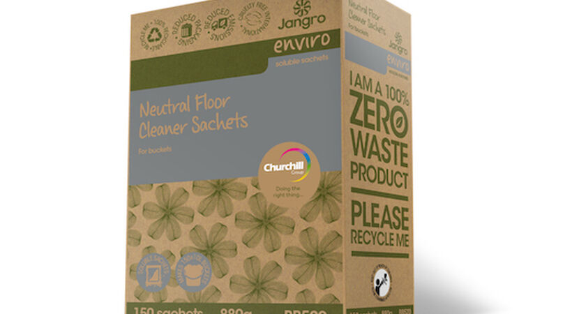 Churchill reduces single-use plastics with recyclable packaging innovation
