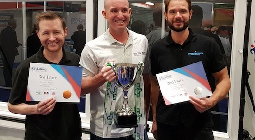 USA's Jeremiah Hickey wins Window Cleaning World Cup