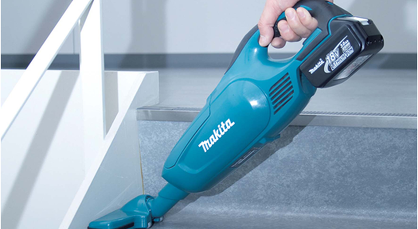DCL182Z 18v LXT vacuum cleaner – a compact offering from Makita