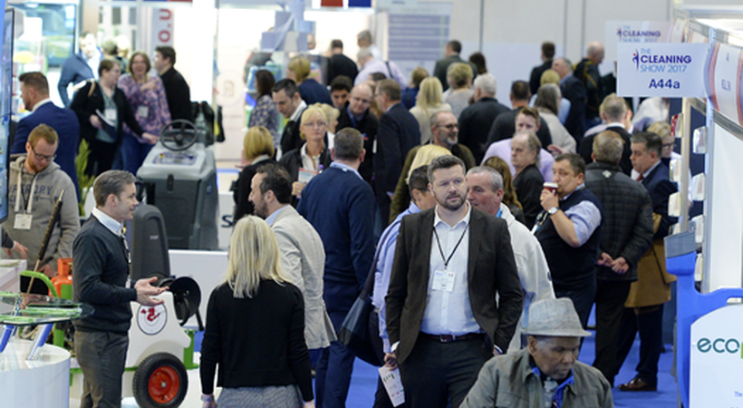 The countdown for the Cleaning Show has now started