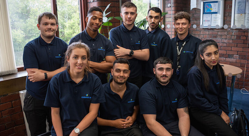 Chemicals specialist grows apprentice numbers