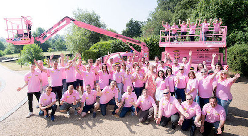 Pretty in pink for breast cancer campaign launch