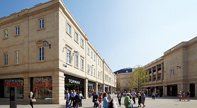 Bath shopping centre added to retail portfolio