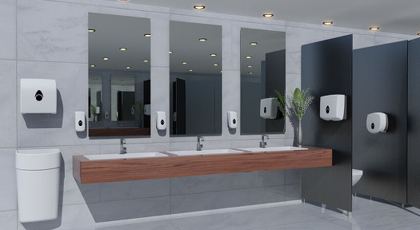 Introducing the Myriad soap and paper dispenser range