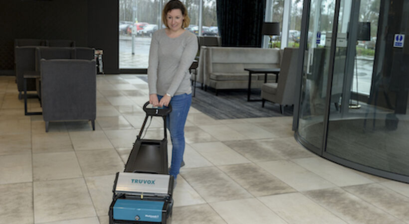 Floor cleaning workhorse takes on new colours at  Interclean