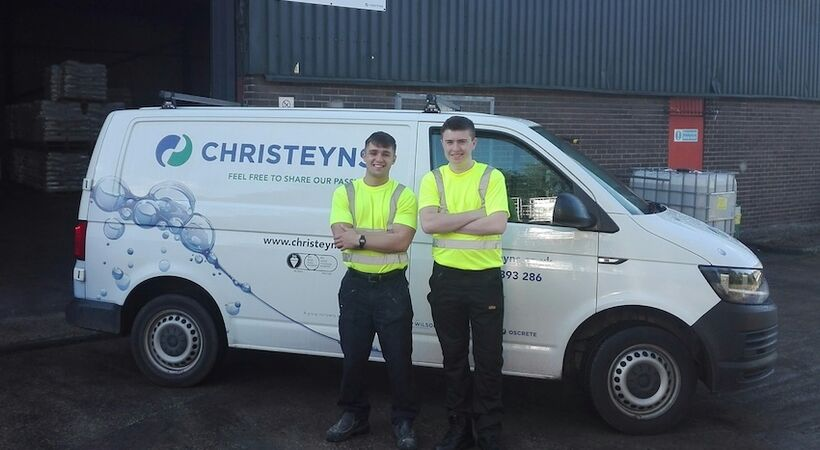 Christeyns welcome new apprentices