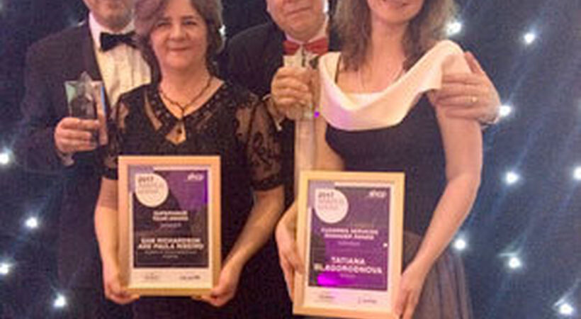 Double win for Sodexo at AHCP awards