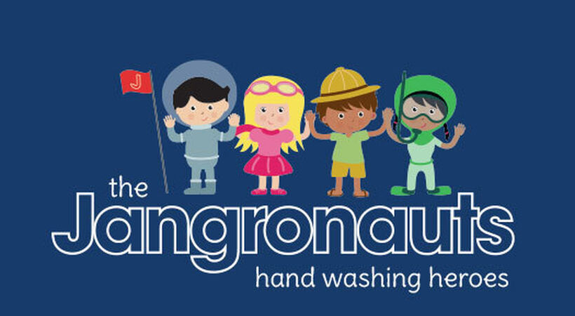 Jangronauts children's hand wash range expands