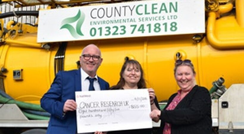 CountyClean supports Cancer Research UK