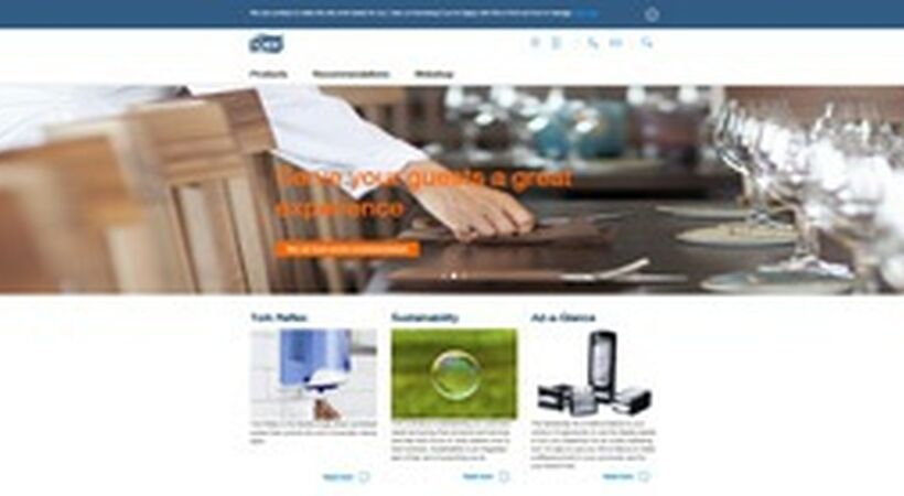 Website simplifies product selection