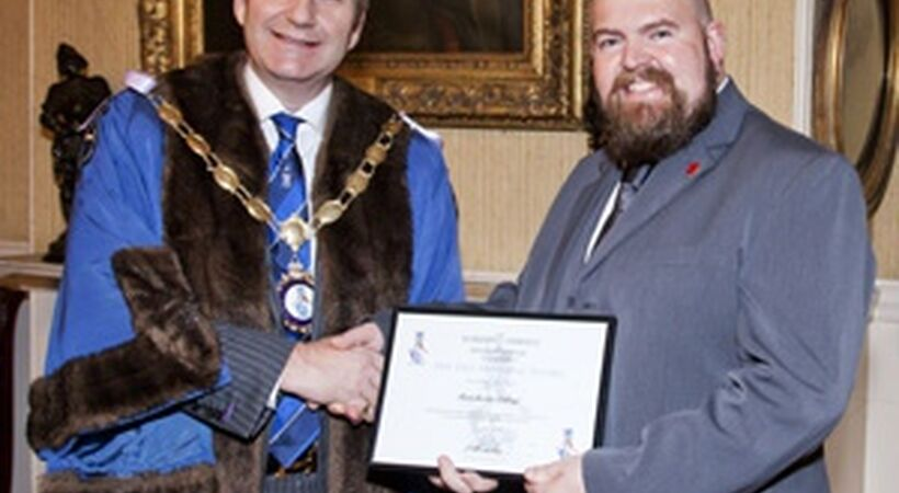 WCEC recognises Manchester College for its contribution to training