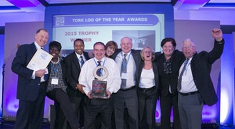 Cleaning company takes top prize at Loo of the Year Awards