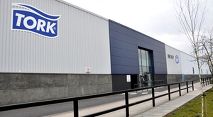 Tork relaunches UK mill after major revamp