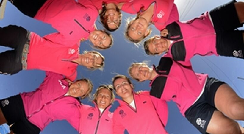 Crowds welcome Team SCA home