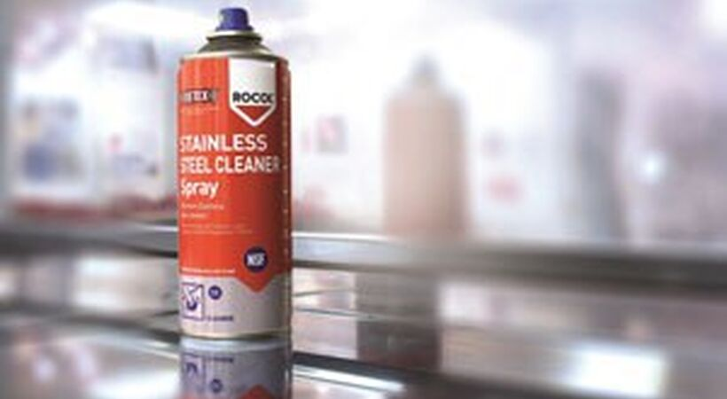 Stainless steel cleaner - free sample available
