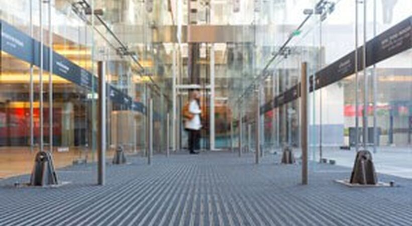 Entrance matting is engineered to work harder and last longer