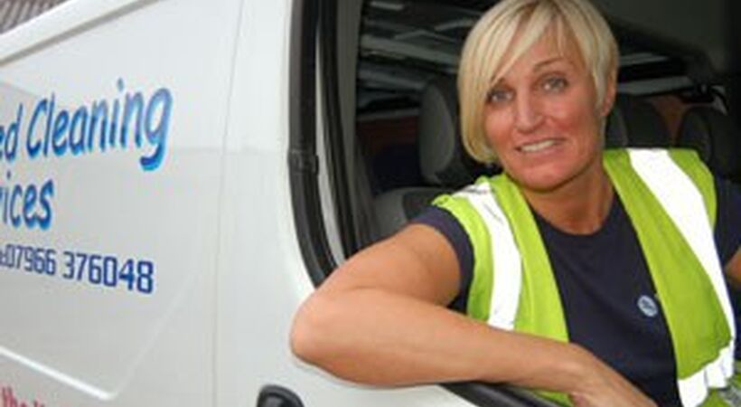 Cleaning company shortlisted for business award