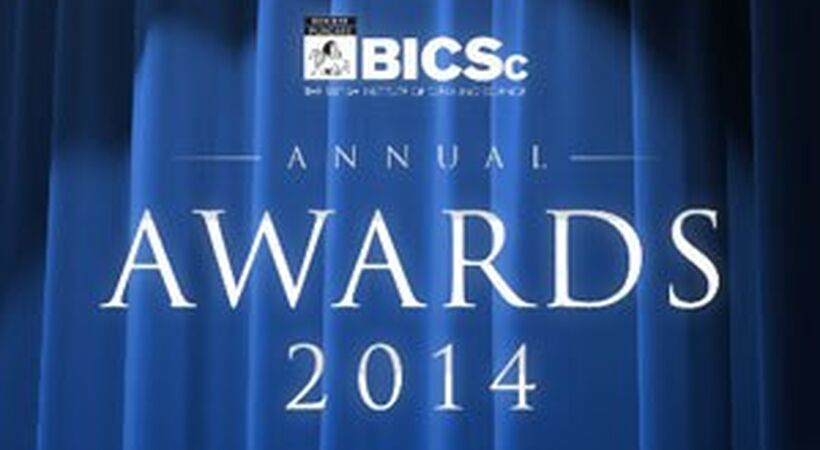 BICSc annual awards dinner 2014