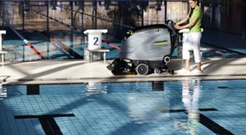Adaptable walk-behind scrubber driers