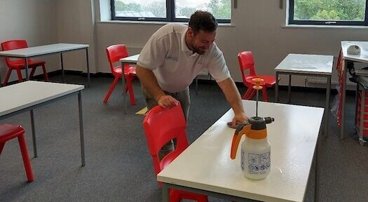 COVID-19 update: NHS standard deep cleaning service helps students safely return to school