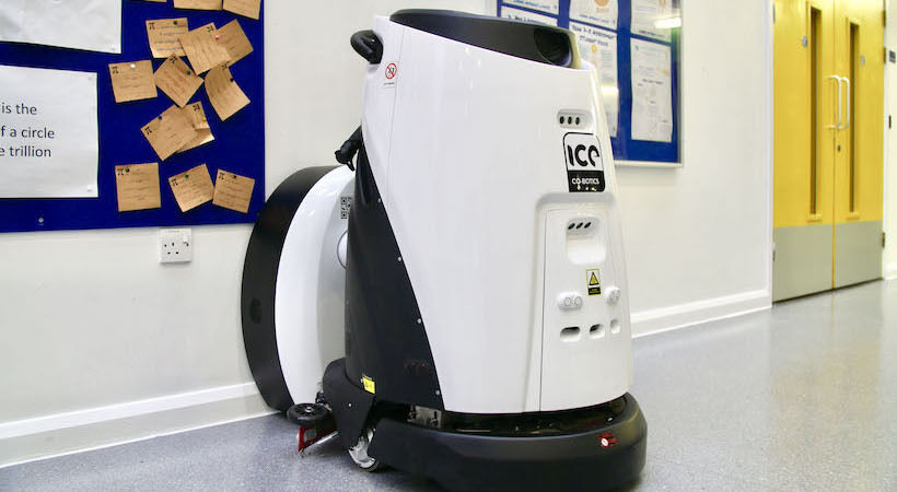 'The largest single order for robotic floor cleaners in Europe' placed