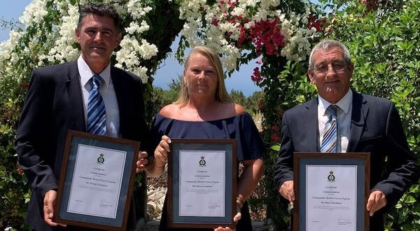 Sodexo team commended for 'excellent service' by British Forces Cyprus