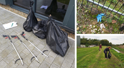 Cromwell Polythene's Litter Pick completed