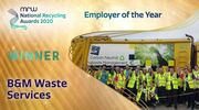 B&M Waste scoops top prize at recycling awards