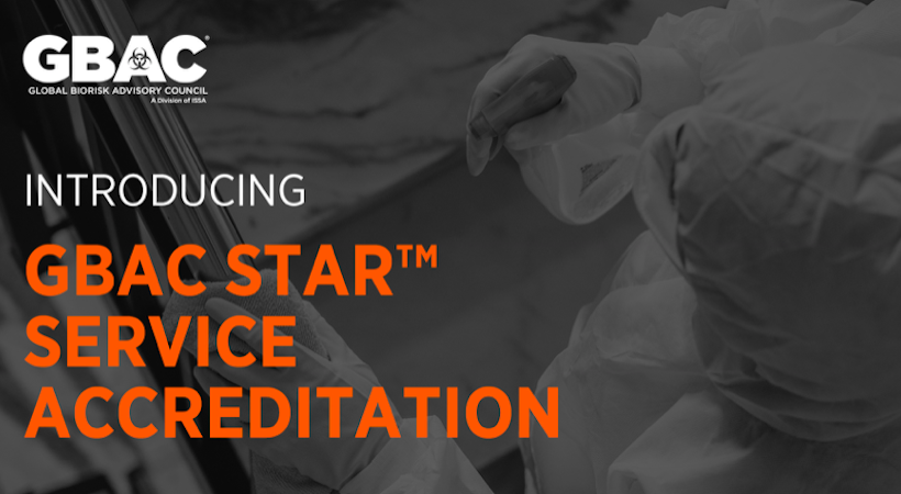 GBAC STAR service accreditation now available for cleaning service providers