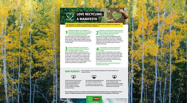 RCP releases Love Recycling manifesto
